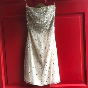 Alice + Olivia Larkin Sequin Dress / XS (2)